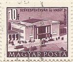 Sellos de Europa - Hungría -  SZÉKESFEHÉRVÁR ÚJ VASÚT