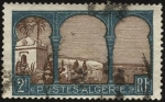 Stamps Algeria -  Vista a la bahía de ARGEL.