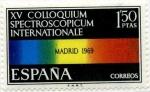 Sellos de Europa - España -  Coloquio Internacional Electroscópico