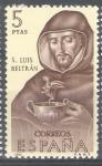 Sellos de Europa - España -  Forjadores de America. San Luis Beltrán.