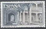 Sellos de Europa - España -  Monasterio de Yuste. Claustro