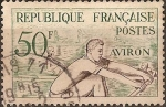 Stamps France -  Juegos Olimpicos de Helsinki