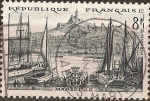 Stamps France -  Serie Turistica