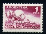 Stamps Argentina -  Nueva provincia del Chaco