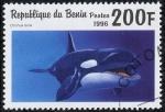 Stamps Benin -  Cetaceos