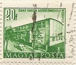 Stamps Hungary -  GANZ VAGON SZERELOMUHELY