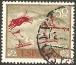 Sellos de Europa - España -  1780 - Cueva Remigia en Castellón