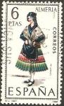 Sellos de Europa - España -  1770 - trajes típicos españoles, almeria