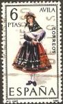 Stamps : Europe : Spain :  1771 - Traje típico de Avila