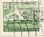 Sellos de Europa - Hungría -  UJPESTI ÁLLAM ÁRHUAZ