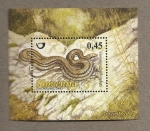 Sellos de Europa - Eslovenia -  Serpiente cuatro bandas