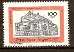 Sellos de America - Argentina -  TEATRO  COLÓN