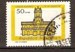 Stamps Argentina -  CASA  DE  CABILDO.  BUENOS  AIRES