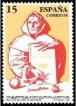 Stamps Spain -  ESPAÑA 1991 3119 Centenarios Fray Luis de León Michel2993 Scott2651