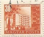 Stamps Hungary -  ÓTI LAKÓHÁZAK