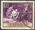 Stamps of the world : Spain :  1857 - Mariano Fortuny Marsal, el coleccionista de estampas