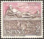 Stamps : Europe : Spain :  1878 - El Doncel en la Catedral de Sigüenza, Guadalajara