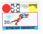 Sellos del Mundo : Africa : Rwanda : Sapporo  72