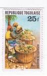 Stamps Africa - Togo -  Activités de marché
