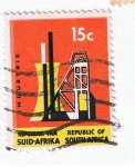 Stamps : Africa : South_Africa :  Industrie