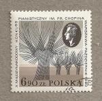 Stamps Poland -  Certamen de Chopin de piano