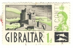 Stamps Europe - Gibraltar -  The moorish castle