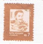 Stamps : America : Uruguay :  Oribe
