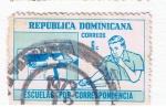 Stamps : America : Dominican_Republic :  Escuela por correspondencia