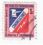 Stamps : America : Dominican_Republic :  comunicaciones