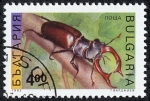 Stamps Bulgaria -  Insectos