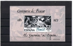 Stamps of the world : Spain :  Centenario de Picasso 1881 - 1973  El Guernica en España