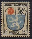 Sellos de Europa - Alemania -  Ocupacion francesa