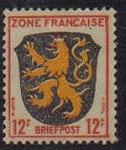Stamps Europe - Germany -  Francia ocupada