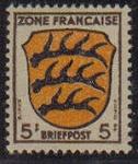 sellos de Europa - Alemania -  Francia ocupada