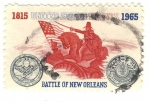 Sellos de America - Estados Unidos -  Battle of New Orleans