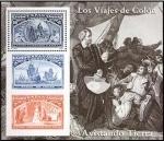Sellos de Europa - España -  ESPAÑA 1992 3206 HB Sellos Nuevos Colón y el Descubrimiento Avistando Tierra MichelB47
