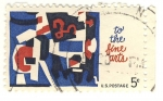 Stamps United States -  to the fine arts