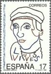 Stamps Spain -  ESPAÑA 1992 3224 Sello Nuevo Efemérides Cent. Nacimiento Juan Luis Vives Michel3085 Scott2685