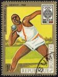 Stamps Burundi -  Juegos Olímpicos