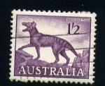 Stamps Oceania - Australia -  Tigre de Tasmania