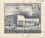 Stamps Hungary -  STZALINVAROSI SPORTHAZ