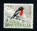 Sellos de Oceania - Australia -  robin escarlata