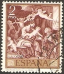 Stamps Spain -  1914 - Alonso Cano, Sagrada Familia