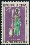 Stamps of the world : Senegal :  Traje Típico