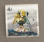 Stamps Africa - Burundi -  Exploración de la luna