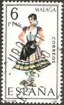 Stamps : Europe : Spain :  1905 - traje típico de Málaga