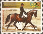 Stamps Paraguay -  Olimpiadas de Verano 1988