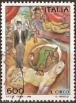 Stamps Italy -  El circo