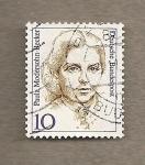 Stamps Germany -  Paula Modersohn