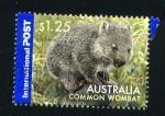 Sellos del Mundo : Oceania : Australia : wombat común